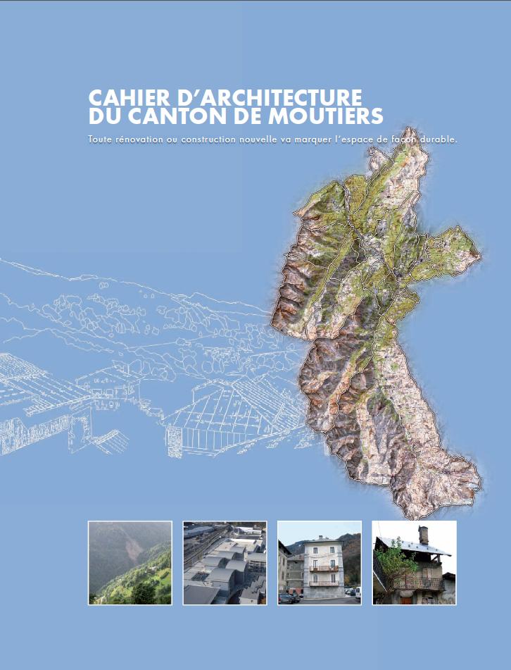 Cahier archi canton Moutiers
