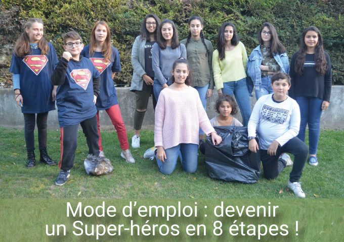 Devenir un Super-héros en 8 étapes !