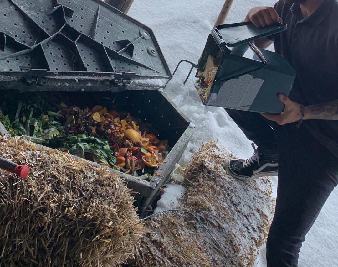 La gestion des déchets dans les restaurants d'altitude