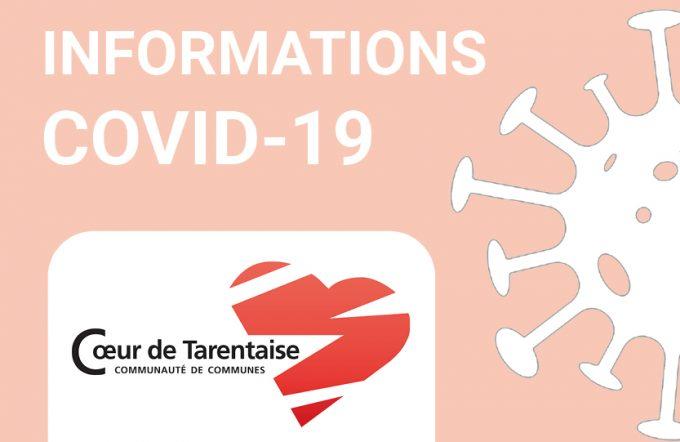 Infos COVID-19 : le fonctionnement des services intercommunaux