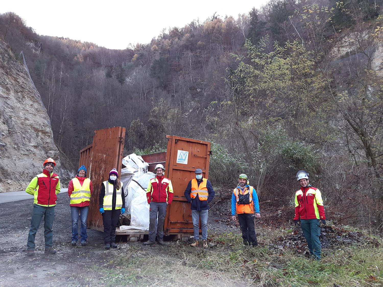 GEMAPI : opération de nettoyage du Frenan