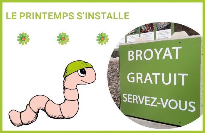 Broyat gratuit pour votre compost !