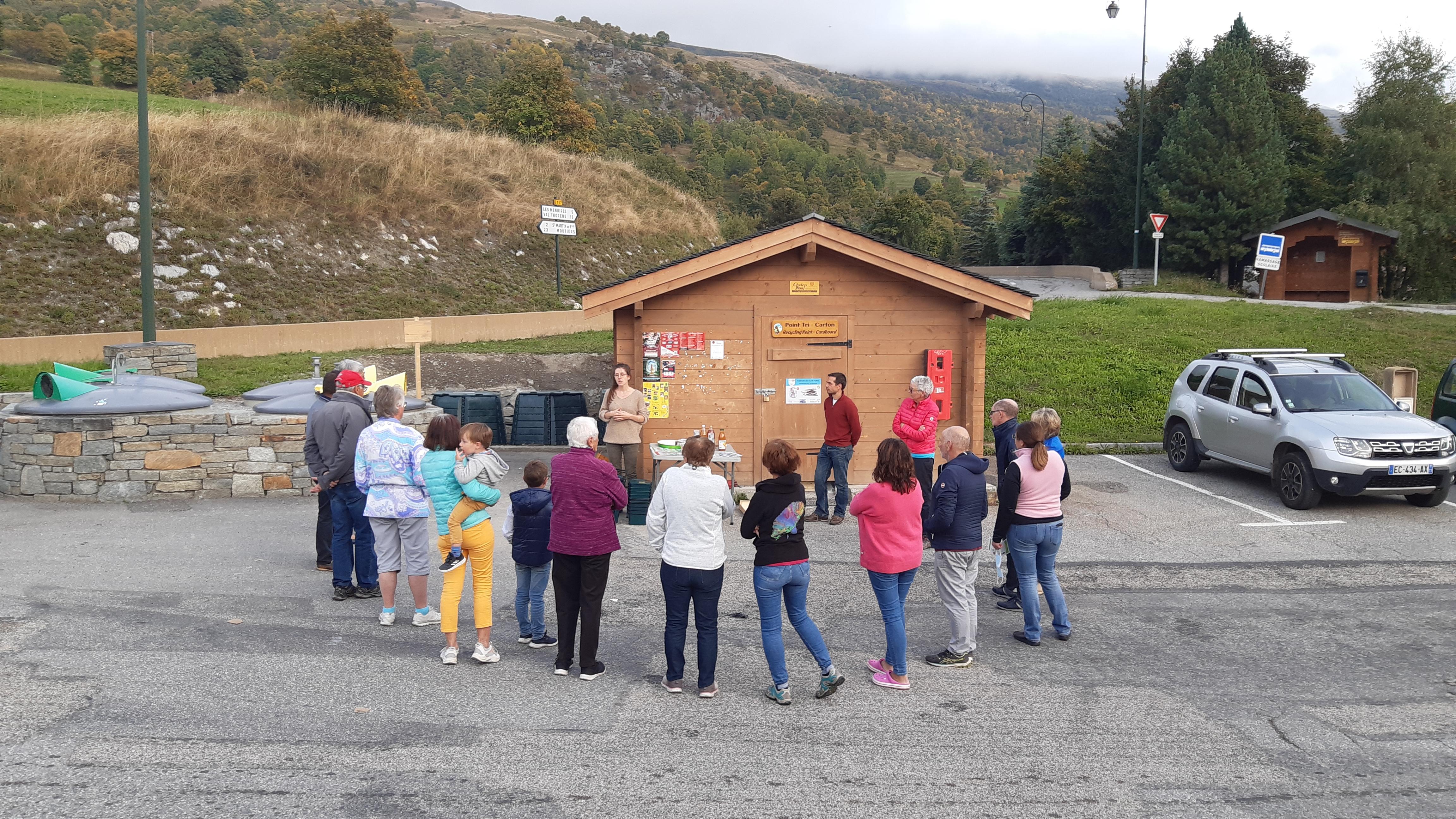 Installation de composteurs collectifs prêt de chez vous !